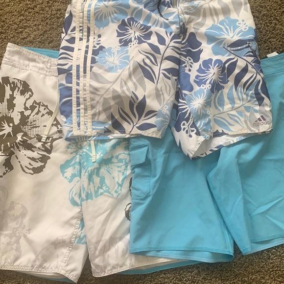 Lot of 3 swim trunks size 34